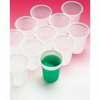 Bicchieri 200 ml linea plastica DOpla - bianco - Ø 7,2 cm - 02048 (conf.50)
