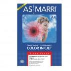 Carta inkjet - A4 - 170 gr - effetto opaco - bianco - As Marri - conf. 50 fogli