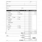 Blocco buste nota spese Semper Multiservice - 150x280 mm - 25 fogli -185020000
