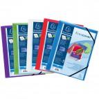 Cartelle 3 lembi personalizzabili Kreacover® Exacompta - assortiti - 55189E (conf.25)