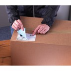 Etichette bianche ecologiche BlockOut™ x pacchi FSC Avery - 199,6x143,5 mm - L7168-100 (conf.100)
