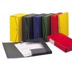 Scatola archivio Project - dorso 10 cm - 25x35 cm - giallo - King Mec