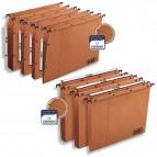 Cartella sospesa - armadio Ultimate® - interasse 33 cm - fondo U 50 mm - 32,5x27,5 cm - avana - Favorit