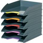 Vaschette Portacorrispondenza Varicolor® Durable - 25,5x33x5,5 cm - Assortiti - 7705-57