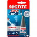 Colla Super Attak Precision - 5 gr - trasparente - Loctite