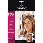 Carta fotografica Satin A4 270g Canson C200004329 (conf.20)