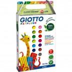 Astuccio Giotto Patplume  - Classici E Fluo - 20x18 G - 513100
