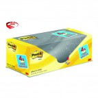Foglietti Post-It® Notes Giallo Canary™ Value Pack  - 76x76 mm - Giallo Canary - 654Cy-Vp20 (Conf.16+4)