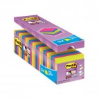 Foglietti Post-It® Super Sticky Value Pack Colore  - 76x76 mm - 32516 (Conf.24)