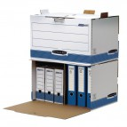 Container Archivio Bankers Box System Fellowes - 33,5x55,7x38,9 cm -  0029901 (Conf.5)
