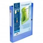 Cartelle Portaprogetto Personalizzabili Kreacover Exacompta - Blu Trasparente - 59982E