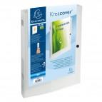Cartelle Portaprogetto Personalizzabili Kreacover Exacompta - Bianco Trasparente - 59988E