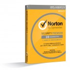 Symantec Norton AntiVirus - Abbonamento Full 10 PC - 21355422