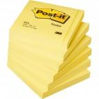 Blocco foglietti - giallo Canary - 76 x 76mm - 100 fogli - Post It