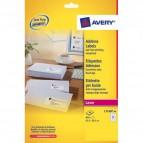 Etichette bianche QuickPeel™ x indirizzi,ecologiche,FSC Avery - 63,5x38,1 mm - L7160-40 (conf.40)