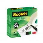 Nastro adesivo Scotch® Magic™ 810 - invisibile - permanente - 19 mm x 33 mt - trasparente - Scotch®