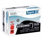 Punti Rapid Super Strong - 73/8 - acciaio zincato - metallo - Rapid - conf. 5000 pezzi