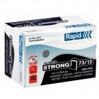 Punti Rapid Super Strong - 73/12 - acciaio zincato - metallo - Rapid - conf. 5000 pezzi
