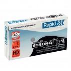 Punti Rapid Super Strong - alti spessori - 9/8 - acciaio zincato - metallo - Rapid - conf. 5000 pezzi