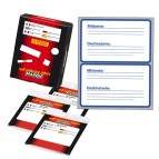 Etichetta adesiva Markin - bianca - Mittente/Destinatario - 115x70 mm - 2 etichette per foglio - 10 fogli per busta
