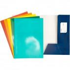 Cartellina 2 lembi per presentazioni 4company - blu - 3760 01 (conf.10)