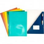 Cartellina ad incastro per presentazioni 4company - blu - 3770 01 (conf.10)