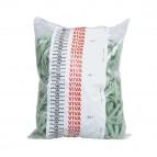 Elastici fettuccia - ø 10 cm - verde - Viva - sacco da 1 kg