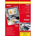 Film adesivo per stampanti Folex - A3 - bianco lucido - 2999W.050.43100 (conf.50)