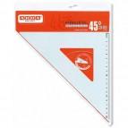 Squadra linea Profil - alluminio - 45gradi - 30cm - Arda