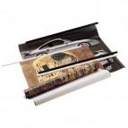 Dorsini portaposter Dorsei Sei Rota - 10 dorsini 70 cm nero - 61007010 (conf.10)