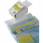 Buste trasparenti Soft Sei Rota - 5,4x8,6 cm - 650508 (conf.100)