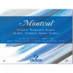 Fogli Linea Acquerello Montval Canson - 50x65 cm - 270 g/mq - 25ff - C200801503 (conf.25)