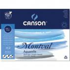 Blocco Linea Acquerello Montval Canson - 24x32 cm - 300 g/mq - 12ff - C200807319