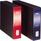 Registratore Dox 9 - Dorso 8 - 35x31,5 cm - blu - 000212A4