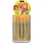 Glitter Glue UHU - Original - oro - 20 ml - D1555