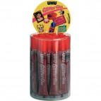Glitter Glue UHU - Original - rosso - 20 ml - D1554