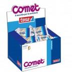 Nastro adesivo - 10 mt x 15 mm - cellophane - trasparente - Comet
