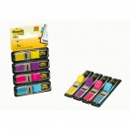 Segnapagina Post-it® Index Mini - 12x43,1 mm - 4 colori vivaci - Post-it - conf. 140 pezzi