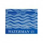 Cartucce standard per stilografica Waterman - blu notte - S0110910 (conf.8)