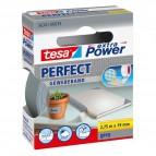 Nastro adesivo telato XP Perfect - 19 mm x 2,7 m - grigio - Tesa®
