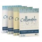 Carta Calligraphy Pergamena - A4 - 90 gr - nocciola 04 - Favini - conf. 50 fogli
