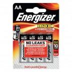 Energizer Alkaline Max AA x 4 - Stilo - E300112500 (conf.4)