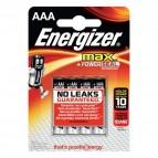 Energizer Alkaline Max AAA x 4 - ministilo  - E300124200 (conf.4)