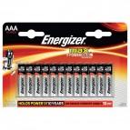 Energizer Alkaline Max AAA x 12 - ministilo - E300103700 (conf.12)