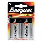 Energizer Alkaline Max D x 2 - Torcia - E300129200 (conf.2)