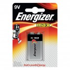 Energizer Alkaline Max 9V x 1 - Trnsistor - E300115900