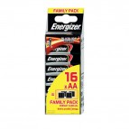 Energizer Family Pack Alkaline Power AA x 16 - stilo-  E300173300 (conf.16)