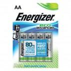 Batterie Alkaline EcoAdvanced Energizer - AA - E300130700 (conf.4)