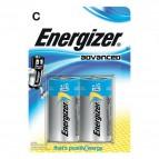 Batterie Alkaline EcoAdvanced Energizer - C - mezzatorcia - E300129900 (conf.2)