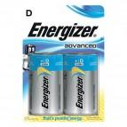 Batterie Alkaline EcoAdvanced Energizer - D - torcia - E300129700 (conf.2)